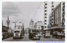 Sao Paulo in the 40s, 50s & 60s.: Cine Metro