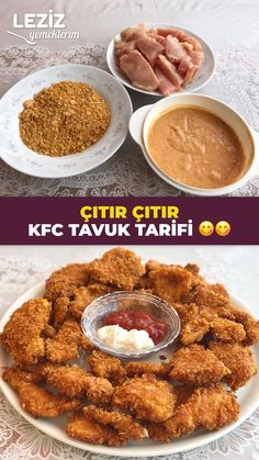 Snack Recipes, Cooking Recipes, Snacks, Kfc, Pasta, Almond, Food And Drink, Turkey, Chicken