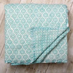 Leela Block Print Quilt—Beautiful Kalyana Block Prints