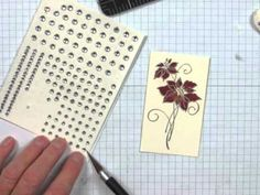 A Craft Knife is an essential tool for cardmakers, paper crafters, and scrapbookers. It's obviously great for cutting things, but this video will show you some ways to use a Craft Knife that you haven't thought of. www.stampingmadly.com