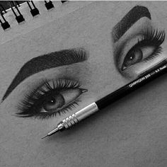 How to shape perfect brows - permanent brows - microblading like recently I had a blond crush, and am still thinking of going blonde. I have now decided to have my brows micro-blended or… How to shape perfect brows - permanent brows - microblading Pencil Art Drawings, Art Drawings Sketches, Cute Drawings, Portrait Sketches, Pencil Portrait, Art Du Croquis, Perfect Brows, Eye Art, Beautiful Drawings