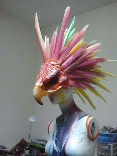Woot Woot!! Its almost done!! Here is our new headpiece for events and parties!!