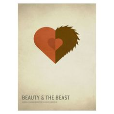 Beauty and the Beast Unframed Wall Canvas