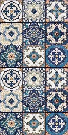 Hottest Photo Ceramics Tile morrocan Popular The installation of porcelain tile might be tricky. Successful tiling tasks are a principal reaction Tile Patterns, Pattern Art, Pattern Designs, Islamic Art Pattern, Arabic Pattern, Moroccan Decor, Moroccan Interiors, Moroccan Bedroom, Moroccan Stencil