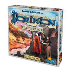 Rio Grande Games 22501402 - Dominion Erweiterung, Die Intrige, Strategiespiel: Amazon.de: Spielzeug