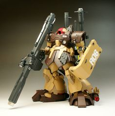 GUNDAM GUY: 1/100 MS-09F/DTP06 Dom Tropen [The Maximum Full Equipment Type] - Customized Build