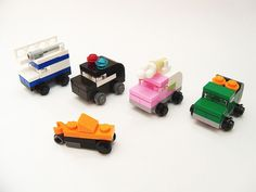 The LEGO Movie Micro Cars | The ice cream truck and garbage … | Flickr