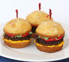 Hamburger cupcakes !!!!