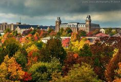 The University of Arkansas, prettiest school out there