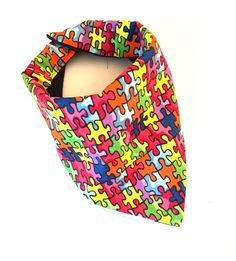 Autism Awareness Baby Burpee Bandana Scarf Bib by NewbieStyleLove on Etsy https://www.etsy.com/listing/255151898/autism-awareness-baby-burpee-bandana