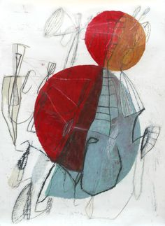 """Composition 10"" Art Print by Jean-Noël Bachès on Artsider."