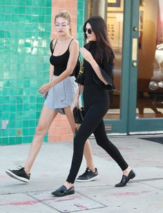 26 Gigi Hadid and Kendall Jenner Outfits You and Your BFF Will Want to Re-Create ASAP