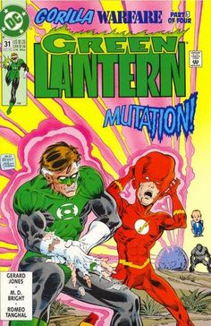 Mutant Green Lantern and Flash
