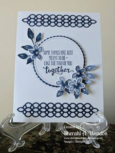 Stampin' Up! Handmade Birthday Cards, Greeting Cards Handmade, Petite Palette, Best Wishes Card, Engagement Cards, Stamping Up Cards, Get Well Cards, Pretty Cards, Card Maker