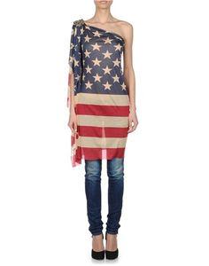 Camisa de Dsqueared2 en forma de la bandera de Estados Unidos (575€).