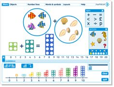 Numicon software for interactive whiteboards Year 2 Maths, Early Years Maths, Early Math, Numicon Activities, Numeracy, Maths Eyfs, Maths Area, Math Boards, Math Numbers