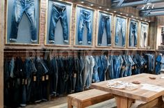 "DENIM by PREMIERE VISION, Barcelona,Spain, ""The trade fair for weavers,spinners,companies and manufactures of finished denim"",pinned by Ton van der Veer"