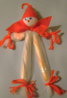 candy man christmas ornament