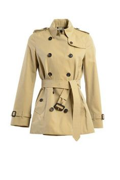 BURBERRY Burberry Short Trench. #burberry #cloth #coats-jackets