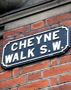 London's Cheyne Walk- Chelsea