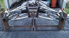 Картинки по запросу long arm suspension go kart