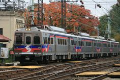 SEPTA Silverliner V with the fall colors | Flickr - Photo Sharing!