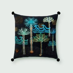 Playa Noche Pom Pom Pillow from The Jungalow