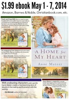 Last day to get A Home for My Heart ebook $1.99