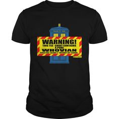 Get yours cool Warning Whovian Inside!!! Coolest T Shirt Shirts & Hoodies.  #gift, #idea, #photo, #image, #hoodie, #shirt, #christmas