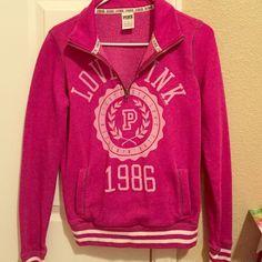 PINK Sweatshirt Pink sweatshirt! ON HOLD FOR @Rodnikia PINK Victoria's Secret Tops Sweatshirts & Hoodies