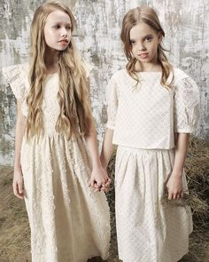 BONPOINT SS 2017 Young Fashion, Kids Fashion, Cute Young Girl, Girls Wardrobe, Cute Outfits For Kids, Kids Wear, Fine Art, Flower Girl Dresses, Ss 2017