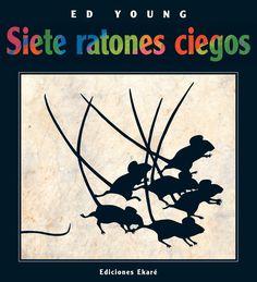 """Hace unos días, en uno de nuestros """"martes matemáticos"""", trabajamos el cuento """"Siete ratones ciegos""""."""