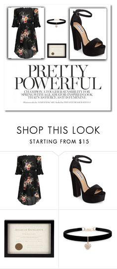 """Untitled #328"" by dariah3412 on Polyvore featuring Steve Madden, Prinz and Betsey Johnson"