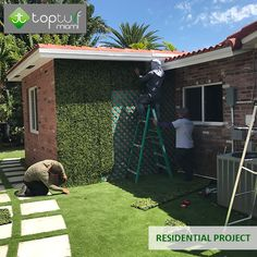 OUR PROJECTS  - Residential -  Visit our gallery http://topturfmiami.com/gallery  Phones: (English): 786-419.8886 (Spanish): 786-678.7574