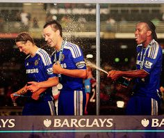 Chelsea win the Barclays Asia Trophy after a 2-0 victory over Aston Villa
