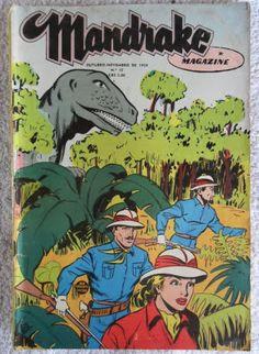 """ANOS DOURADOS: IMAGENS & FATOS: Novembro 2013 Como não se lembrar do mágico MANDRAKE, que encantava a garotada """"viciada"""" em gibi dos anos 50 e 60. Ele deixava os malfeitores fora de ação só com seus espetaculares truques de ilusionismo (sem usar nenhum arma)! Comic Book Covers, Comic Books, Comic Drawing, Classic Comics, Old Toys, Looney Tunes, Film Movie, The Magicians, Nostalgia"""