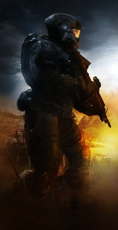 Halo for life Halo Reach, Halo Game, Halo 3, Science Fiction, Halo Armor, Halo Master Chief, Halo Series, Future Soldier, Red Vs Blue