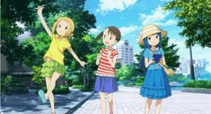 Want to visit Tokyo for free? It's easy, just watch an anime set in the city, like the super cute Mitsuboshi Colors.
