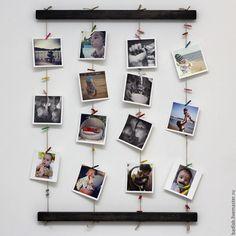 Купить Панно для фотографий на стену Fotolder (черное) - черный, для фото, рамка…