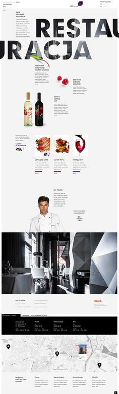 Food infographic Blow Up Hall on Web Design Served Infographic Description Love the use of a designed white space. I wonder how it looks in a browser at Food Web Design, Site Design, App Design, Web Responsive, Ui Web, Web Layout, Layout Design, Google Font, Mise En Page Web