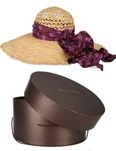 Gucci http://www.marie-claire.es/moda/accesorios/fotos/sombreros-de-verano-para-cabezas-con-estilo/gucci10