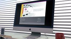 COAIN Landing webpage (Spanish Industrial Engineer Association). Design by MADTYPPER #corporate #branding #webdesign