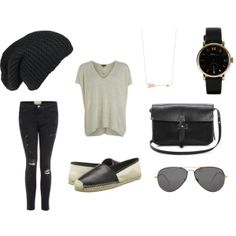 Looking for a casual edgy outfit? www.FashionMeKnot.blogspot.com can help you out!