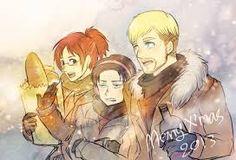 SnK. Hanji, Levi and Erwin