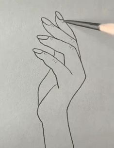 Easy hand drawing doodle draw art artist is part of pencil-drawings - pencil-drawings Easy Hand Drawings, Cool Art Drawings, Pencil Art Drawings, Doodle Drawings, Art Drawings Sketches, Drawing Drawing, Drawing Tips, Drawing Hands, Drawing Process