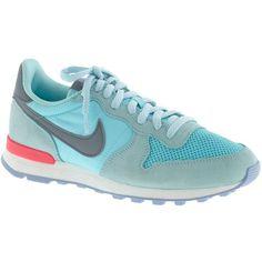 J.Crew Nike® Internationalist sneakers  85 Nike Heels, Sneakers Nike,  Sneakers Fashion 8788b2780c