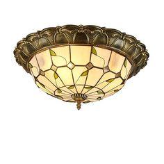 Tiffany Pendant Light, Tiffany Lamps, Chandelier Table Lamp, Pendant Lamp, Gothic Bathroom, Stained Glass Light, Flush Mount Lighting, Living Room Lighting, Living Room Bedroom