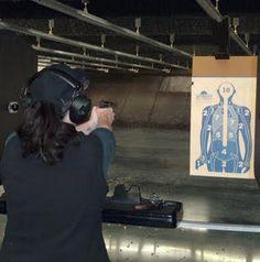 At Patrick's Gun Range in Savannah