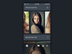 Profile Gallery DesignGoogle+|Dribbble|Behance|Twitter|http://ramotion.com