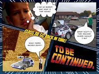 Mr P's ICT blog - Tech to raise standards!: Using Back to the Future to Start our Next Topic!